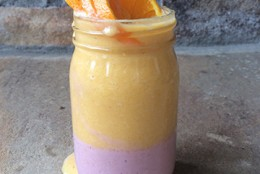 Raspberry Orange Dreamsicle Smoothie
