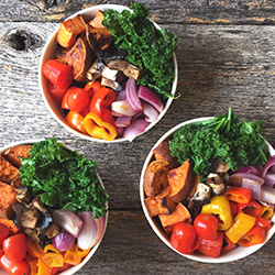 Spicy Queso Balanced Bowls