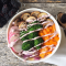 Protein Bowls with Salted Maple Tahini Sauce