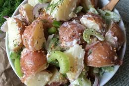 Loaded Red Skin Potato Salad